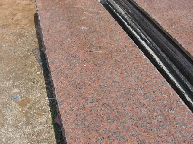 G386-8,shidao red granite slab